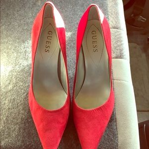 Guess Shoes - Guess high heels red